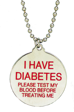 Search Form Free Diabetes Id Necklace